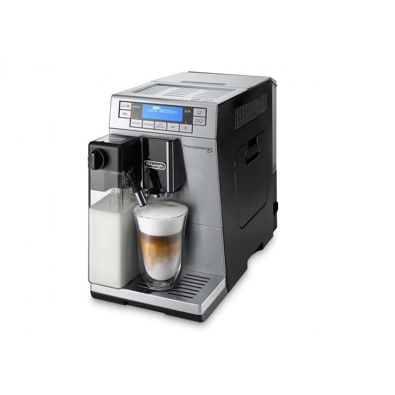 Espressor automat DeLonghi PrimaDonna ETAM 36.365 MB, 1450 W, 15 bar, 1.3 L, Negru / Argintiu