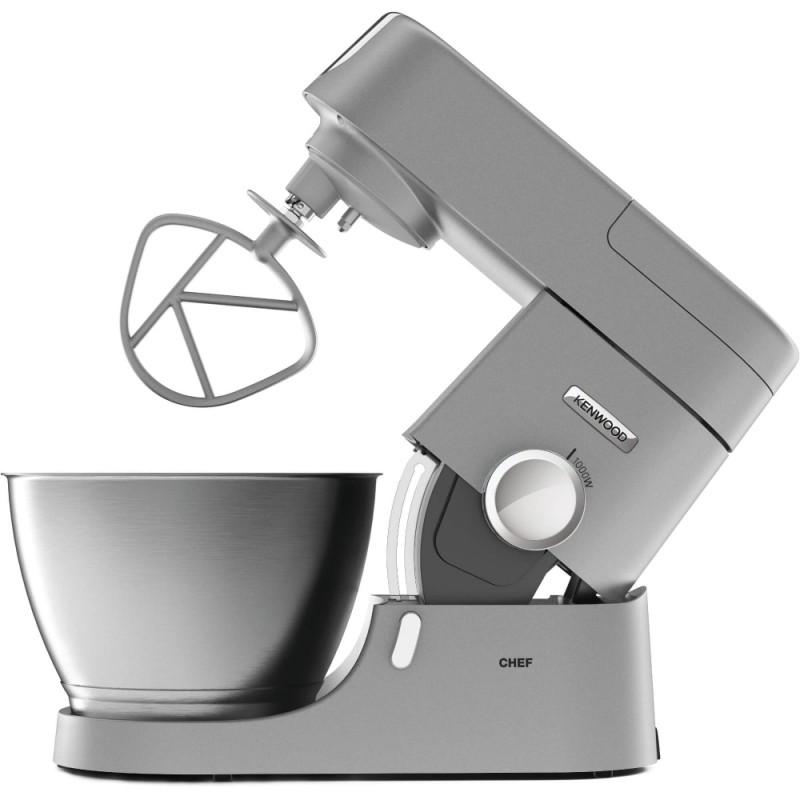 Robot de bucatarie Kenwood KVC3110S, 1000 W, 7 viteze + Puls, bol 4.6 l, Argintiu